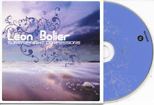 LEON BOLIER - Summernight Confessions CD SINGLE 4TR Trance 2007 Holland cardslv