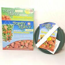 Topsy Turvy Original Upside Down Strawberry Planter Hanging Garden Patio Deck TV