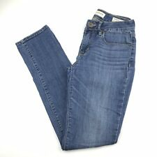 Bullhead Women 5 Jeans Skinny Leg Medium Wash 5-Pocket Cotton Blend Stretch