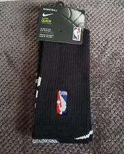 """Nike Nba QUICKGRIP en la Corte """"Calcetines-Size UK 8-11 - SX5991 Negro 010 1 Par"""