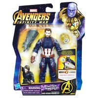 Marvel Avengers: Infinity War Captain America Action Figure with Infinity Stone