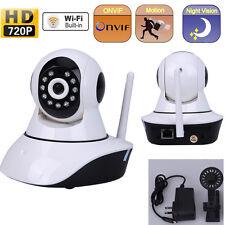 Motion Detection 720P Wi-Fi P2P IP TF Dual Audio Pan/Tilt Night Vision IR Camera