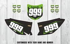 Kawasaki KXF 250 2009-2012, 450 2009-2011 Custom Motocross Graphic Backgrounds