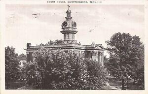 Murfreesboro, TENNESSEE - Court House  - 1944 - ARCHITECTURE