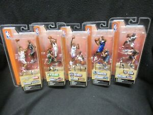 "MCFARLANE NBA 3"" Figure 2 pack Series 1 set of 5 Iverson,James, ETC"
