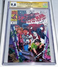 Amazing Spider-Man Skating Thin Ice Dual Signature STAN LEE & TODD MCFARLANE 9.8