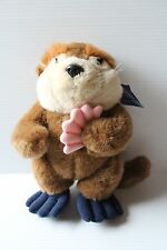 Stuffed Otter, otter with shell, plush otter, Sea World otter, Sea World toy