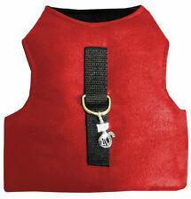 Katzengeschirr Cat Walking Jacket Softgeschirr verstellbar mit Klett Größe S rot