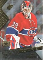 2015-16 SPx Hockey #120 Mike Condon RC Montreal Canadiens
