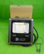 10 Watt LED Floodlight 4500K Cool White Slimline Luxlite LUX-10WFLCW-SMD