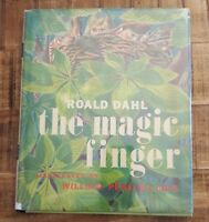 THE MAGIC FINGER by Roald Dahl - 1966 Early Edition - Illustrated