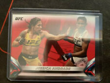 2018 TOPPS UFC KNOCKOUT JESSICA ANDRADE RED PARALLEL #6/8