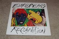 """Europeans~Recognition~12"""" EP~1983 New Wave Alternative Rock~FAST SHIPPING!"""