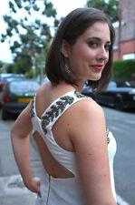 Topshop Leaf Embellished Vest Top , UK Size 14 , RRP - £40