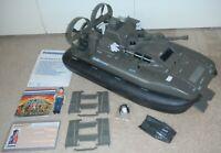 1984 GI Joe Killer Whale Hovercraft Cutter File Card Blueprints *Complete* READ