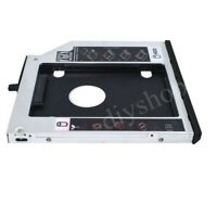 New 2nd HDD SSD Hard Drive Caddy Adapter for Lenovo ThinkPad T500 W500 x200 x220