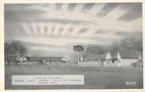 Billings Montana Westward Ho Motel Vintage Postcard AA37024