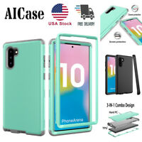 SamSung Galaxy Note10+Plus Shockproof Hybrid Rugged Armor Rubber Hard Case Cover