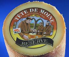 ca.400 g RESERVE TETE DE MOINE GIROLLE  CHEESE FROMAGE BELLELAY 4 MONATE GEREIFT