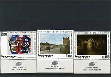 ISRAEL 1970 Sc#432-434 ART/PAINTINGS SET OF 3 STAMPS MNH