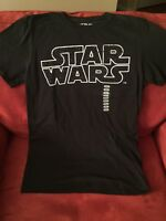 Star Wars Black Space Graphic Small T-Shirt FAST Shipping!!