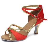 Brand New Ballroom Latin Dance Shoes for Women/Girls/Tango&Salsa heeled 5 Colors