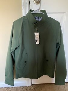 Uniqlo Green Harrington jacket XS new