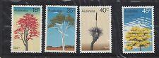 Australia 1978 Trees Stamp Set