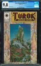 Turok Dinosaur Hunter #1 CGC 9.8 white Valiant 1993 Bart Sears Michelinie