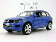 5 inch VW - Volkswagen Touareg Crossover SUV Scale Diecast Metal Model - Blue