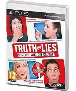 Truth or Lies PS3 Playstation,