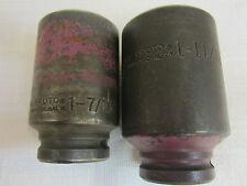 """Proto 07527L 1-11/16� & Proto 07523L 1-7/16) """" (Used)"""