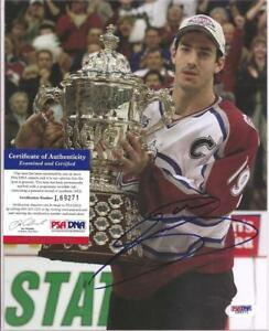 Joe Sakic Signed 8x10 Photo PSA DNA COA Colorado Avalanche Avs Autographed c