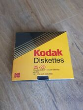 "Kodak diskettes 2S 2D 48TPI brand new sealed 5.25"" - 5 1/4"""