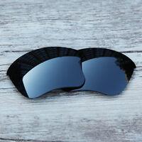 Inew Black Iridium polarized Replacement Lenses for Oakley Flak Jacket XLJ