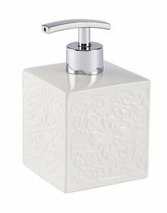 Wenko Cordoba White Ceramic Soap Dispenser 22650100