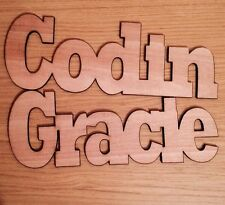 personalised wooden names Laser Cut 6 Mm Plywood.