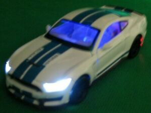 """DIE CAST MODEL, Metal """"SHELBY GT 350"""" 1:32 Scale, By Caipo Technology Toy's, Box"""