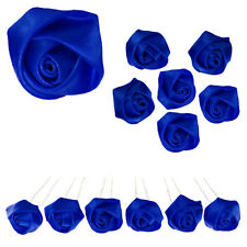 6 epingles pics à cheveux chignon mariage mariée bleu dur roi cérémonie