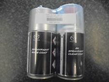 MAZDA SUNLIGHT SILVER 22V SPRAY CAN AND LAQUER BRAND NEW GENUINE PART 250ML