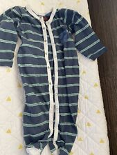 7 for all mankind baby pajamas one piece. size 6-9 months. nwot.