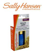 SALLY HANSEN Strength Nail Polish MIRACLE CURE Severe Problem CLEAR