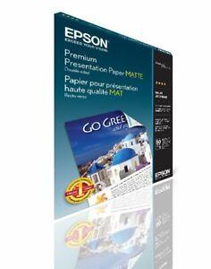 Epson Premium Photo Paper Semi-Gloss, 4 x 6 Inches, 40 Sheets
