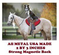 "American Pharoeh Horse refrigerator magnet  2 1//2 x 3 1//2/"""