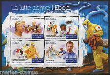 GUINEA 2015 FIGHT AGAINST EBOLA  SHEET   MINT NH