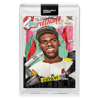 Topps PROJECT 2020 Card 70 ~ 1959 Bob Gibson by Tyson Beck ~ PR: 6757