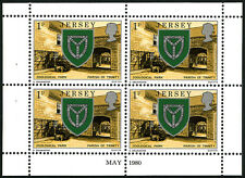 Jersey 138b, Booklet Pane, MNH. Definitive. Arms of Trinity, Zoo, 1980