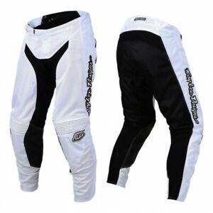 Troy Lee Designs MONO White TLD GP AIR Motocross Race Pants Adults