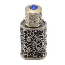 3ml Bronze Middle Eastern Arabic Style Mini Vintage Portable Perfume Bottle G