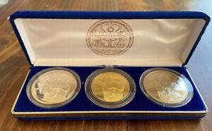 The 1998 Babe Ruth 3-Coin Commemorative Coin Set